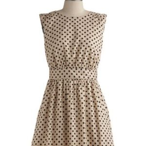 Emily and Fin Modcloth Polka Dot dress